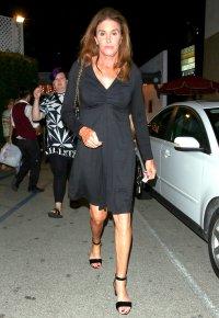 Caitlyn Jenner is spotted leaving Casa Vega on September 25, 2015.