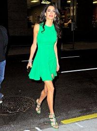 Amal Clooney during New York Film Festival on September 29, 2015.