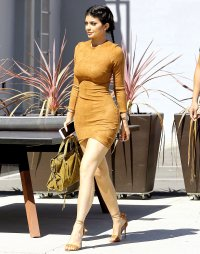 Kylie Jenner at Smashbox Studios in Culver City, CA on Sept. 29, 2015