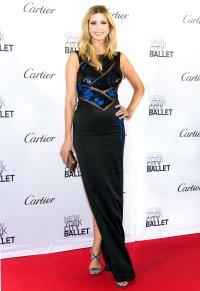 Pregnant Ivanka Trump at the 2015 New York City Ballet Fall Gala .