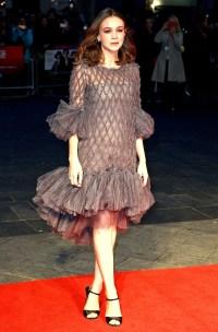 Carey Mulligan during the BFI London Film Festival