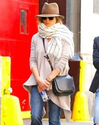 Jennifer Aniston in NYC on October 8, 2015.