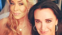 Faye Resnick and Kyle Richards