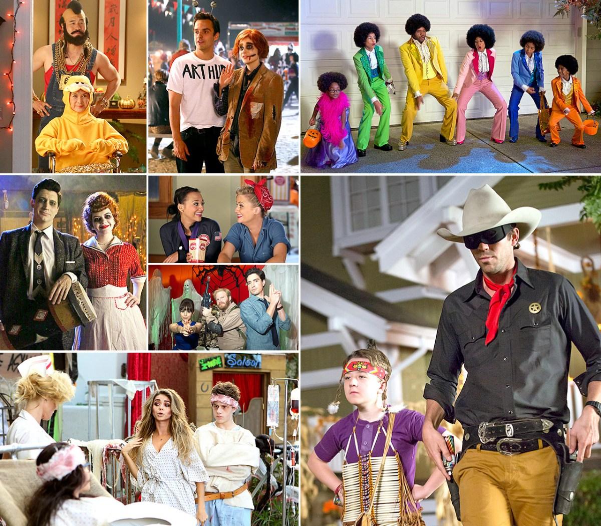 TV Characters' Halloween Costumes