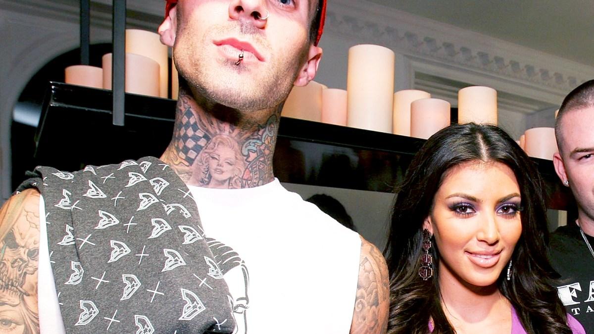 Travis Barker I Couldnt Keep My Eyes Off Kim Kardashian