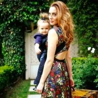 Eva Amurri Martino with her daughter Marlowe