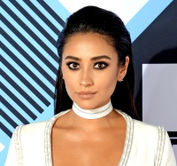 Shay Mitchell at the MTV EMA's on October 25, 2015.