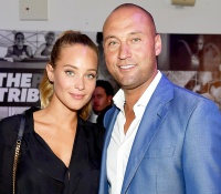 Hannah Davis and Derek Jeter