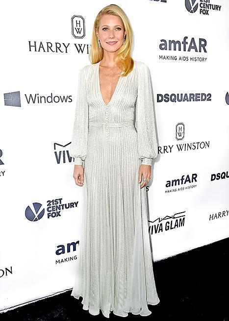 Gwyneth Paltrow at amfAR