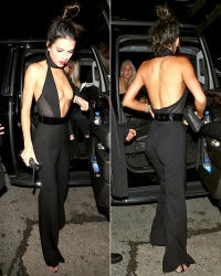 Kendall Jenner at The Nice Guy Club to Celebrate Her 20th Birthday
