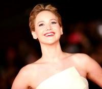 Jennifer Lawrence during The 8th Rome Film Festival