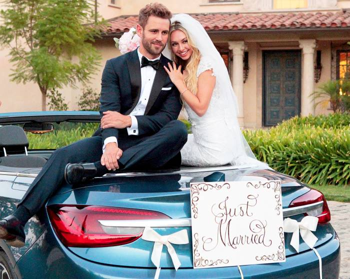 Nick Viall and Corinne Olympios