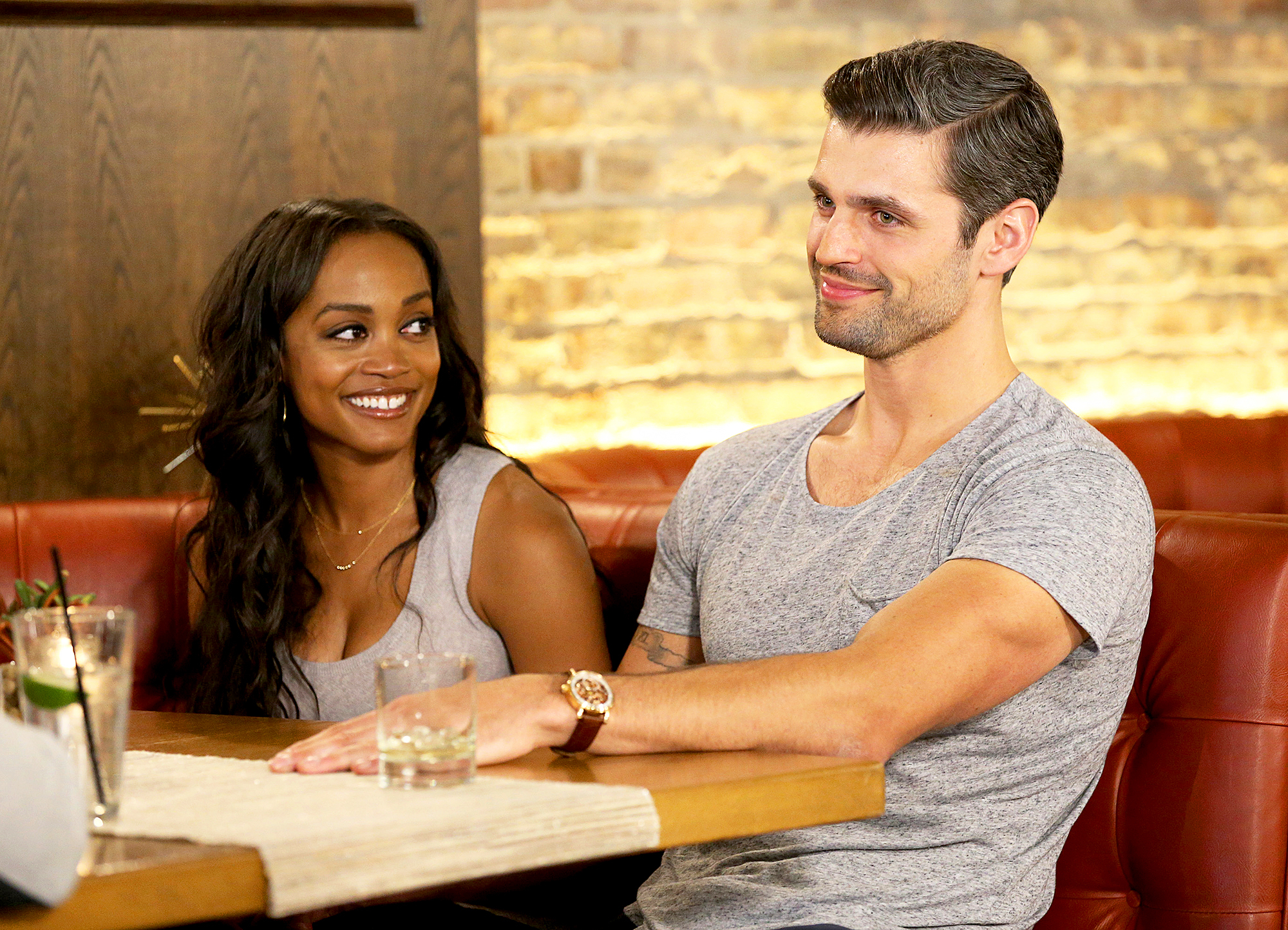 Rachel Lindsay and Peter Kraus Bachelorette
