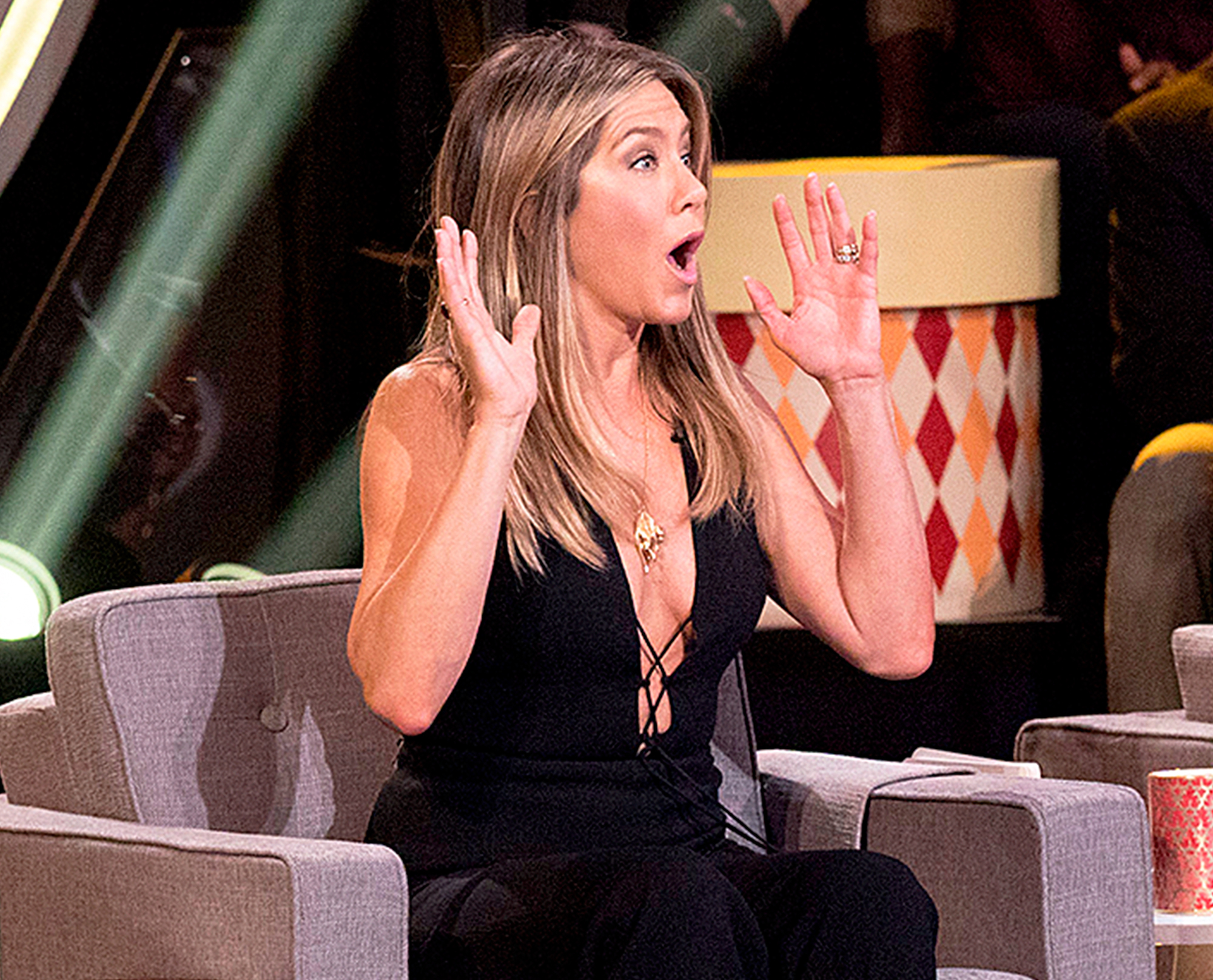 Jennifer Aniston The Gong Show