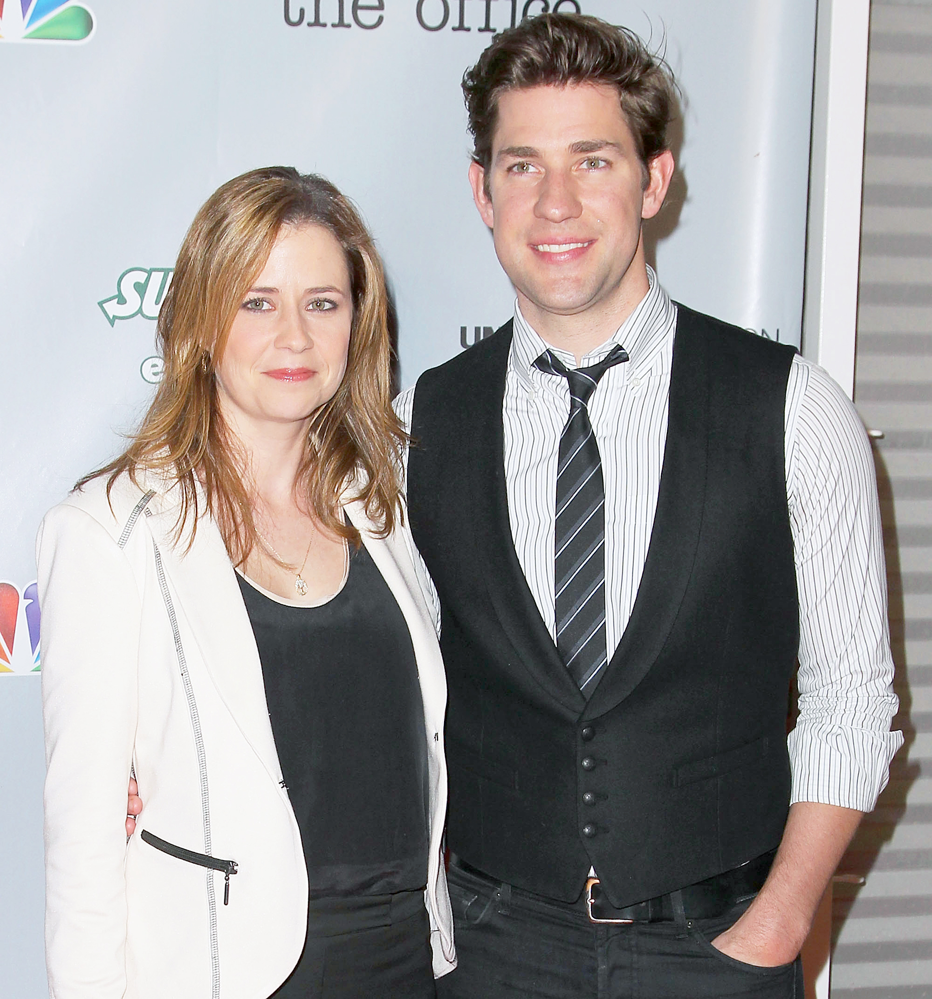 John krasinski and jenna fischer entertainment weekly