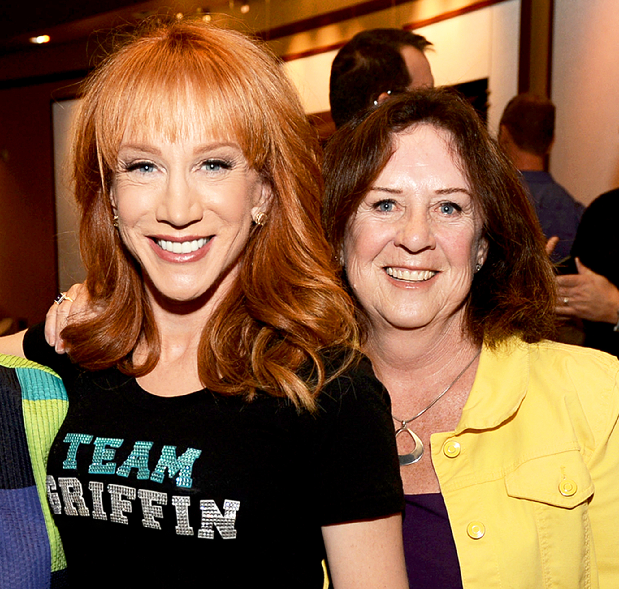Kathy Griffin and Joyce Griffin