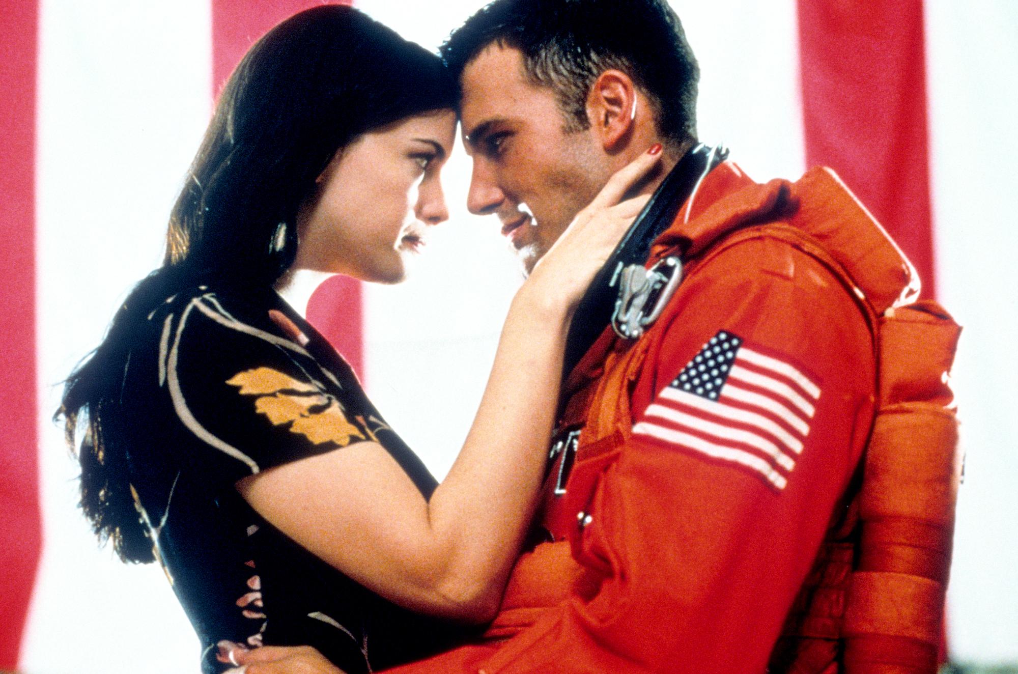 Liv Tyler and Ben Affleck