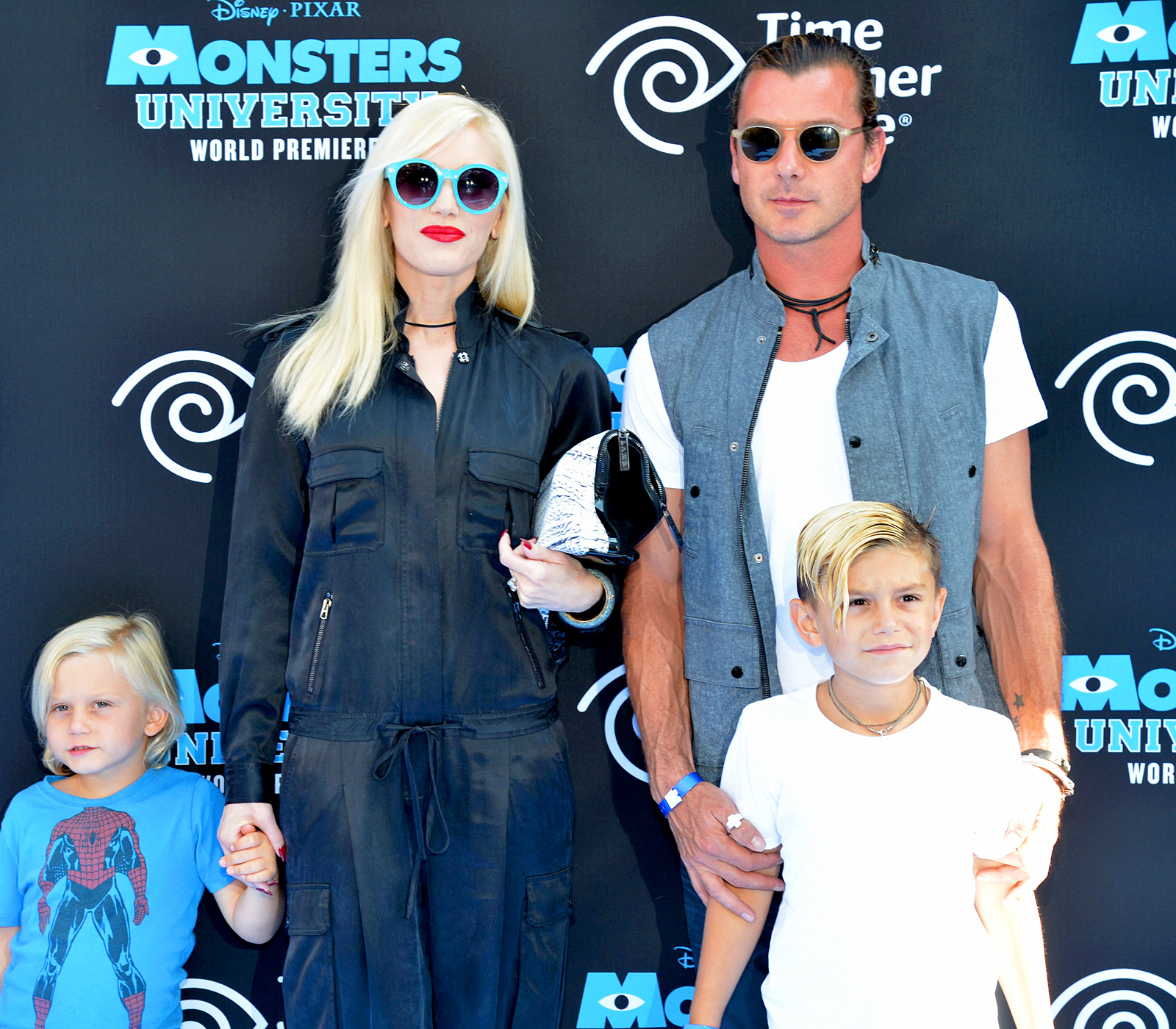 Zuma, Gwen Stefani, Gavin Rossdale and Kingston