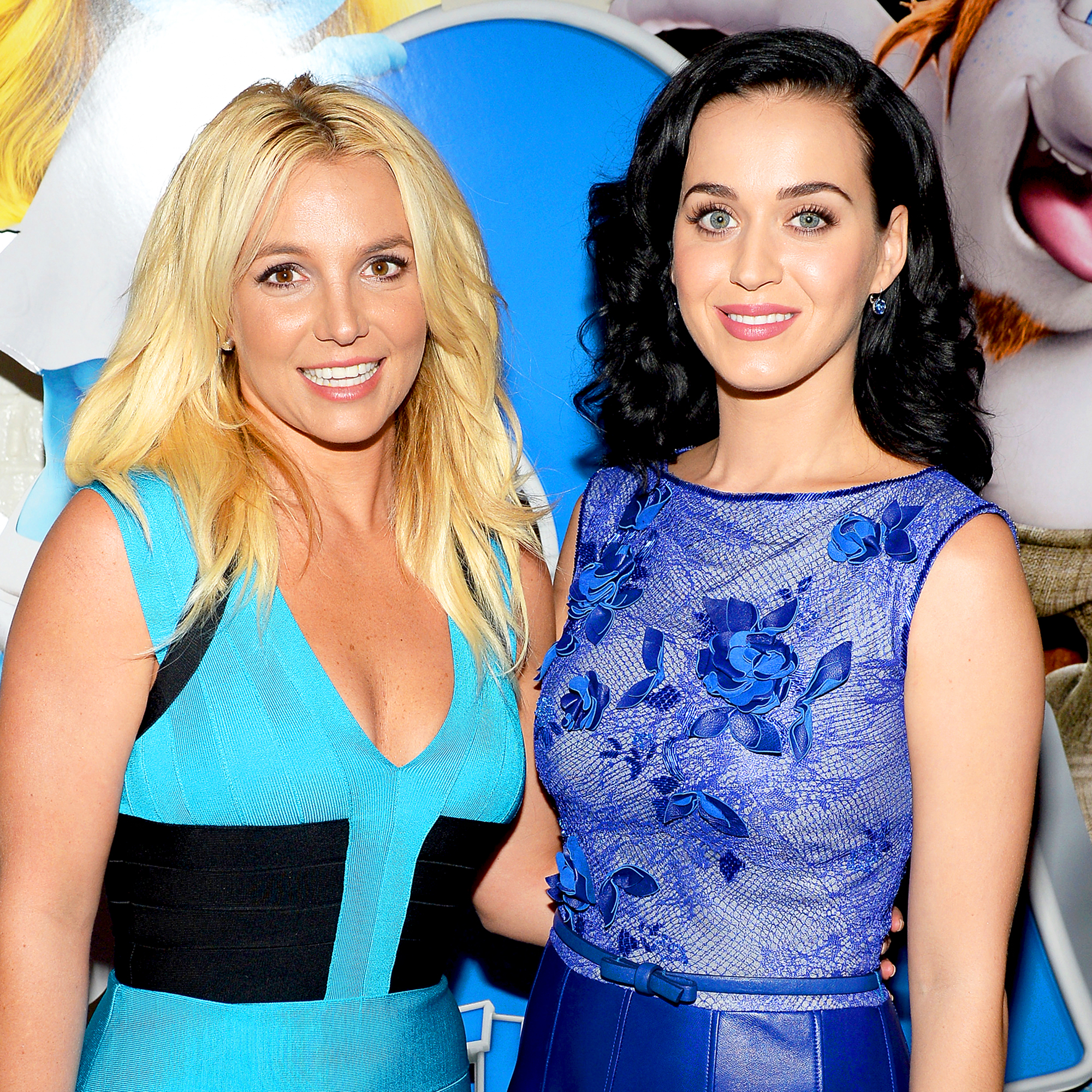 Britney Spears and Katy Perry