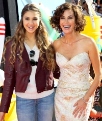 Teri Hatcher and Emerson