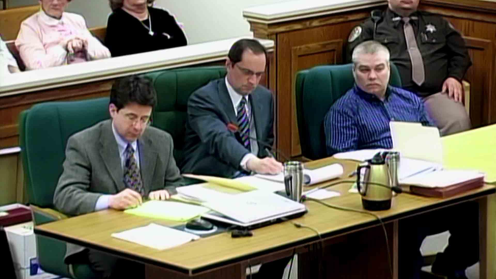 Dean Strang, Jerry Buting and Steven Avery Making a Murderer