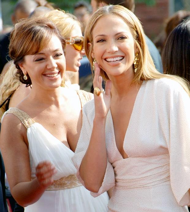 Leah Remini and Jennifer Lopez