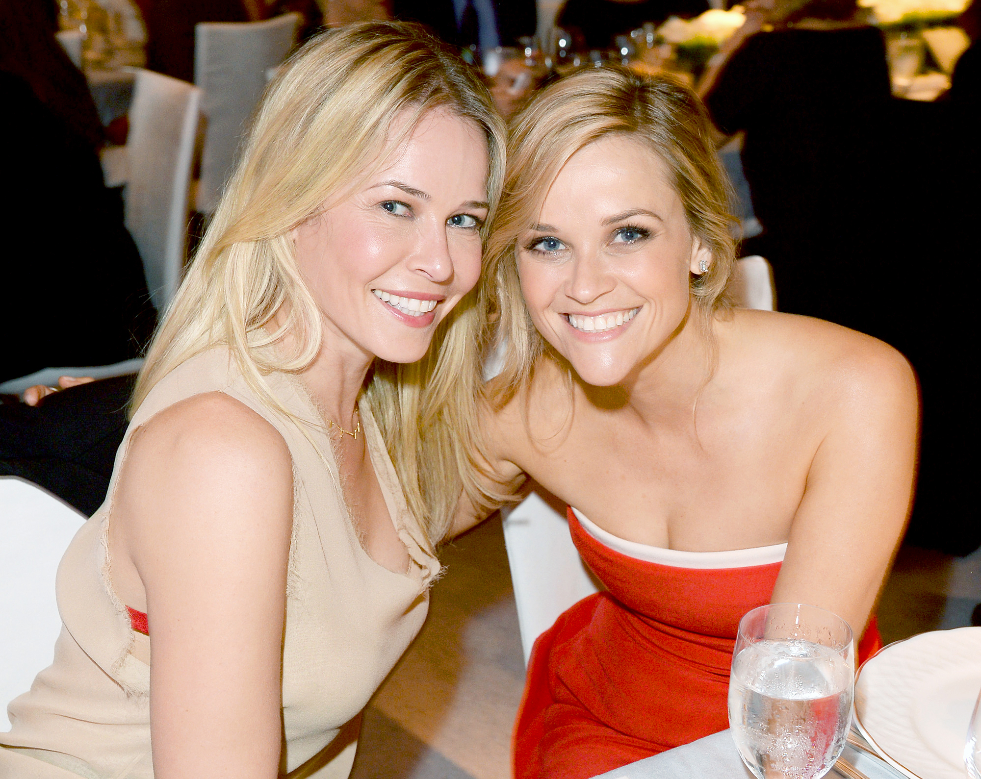 Chelsea Handler and Reese Witherspoon