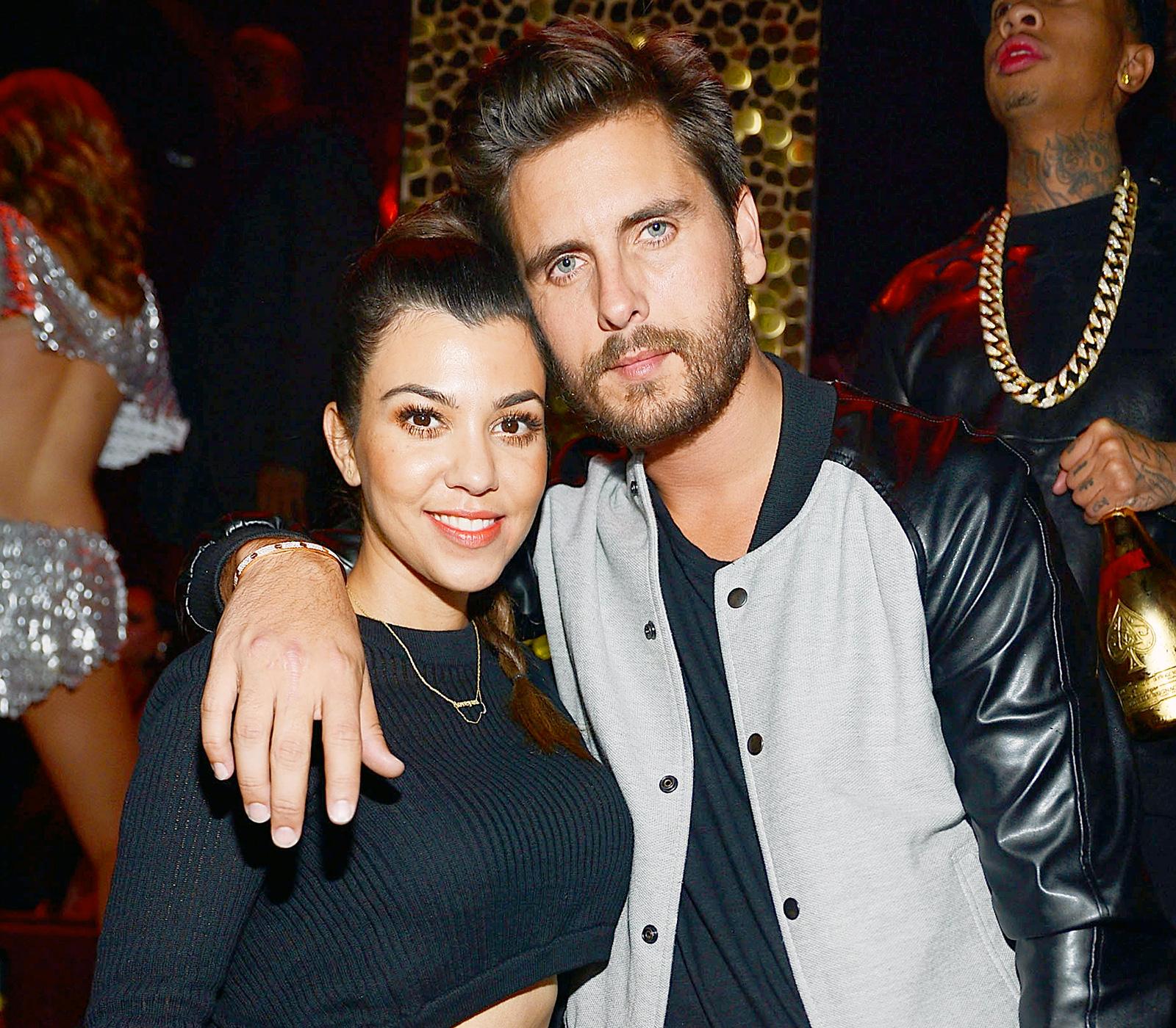 Wanna Be Kardashian Ͽ� Kourtney Ͽ� Midnight Cuddles Ͽ� Ͽ� I: Scott Disick: 'I Try To F--k' Kourtney Kardashian 'Once A