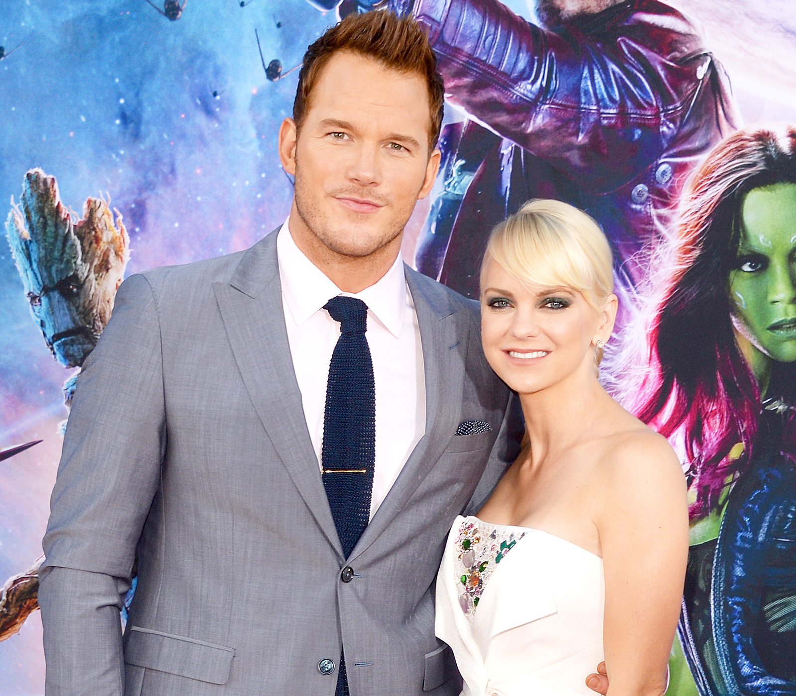 Anna Faris Addresses Rumours That Chris Pratt 'Cheated' With Jennifer Lawrence