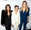 Kim Kardashian, Kourtney Kardashian and Khloe Kardashian attend the Generation NXT Charity Benefit at 1OAK on February 16, 2014 in New York City.