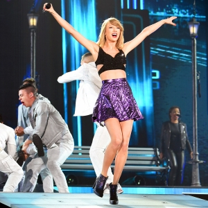 Taylor Swift performs during The 1989 World Tour at Tokyo Dome in Japan on May 5, 2015.