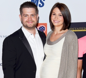 Jack Osbourne and wife Lisa arrive at the 22nd Annual Race To Erase MS at the Hyatt Regency Century Plaza on April 24, 2015.