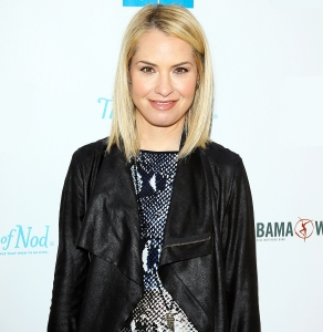 Leslie Grossman arrives at the Milk + Bookies Story Time Celebration held at Skirball Cultural Center on April 27, 2014 in Los Angeles, California.