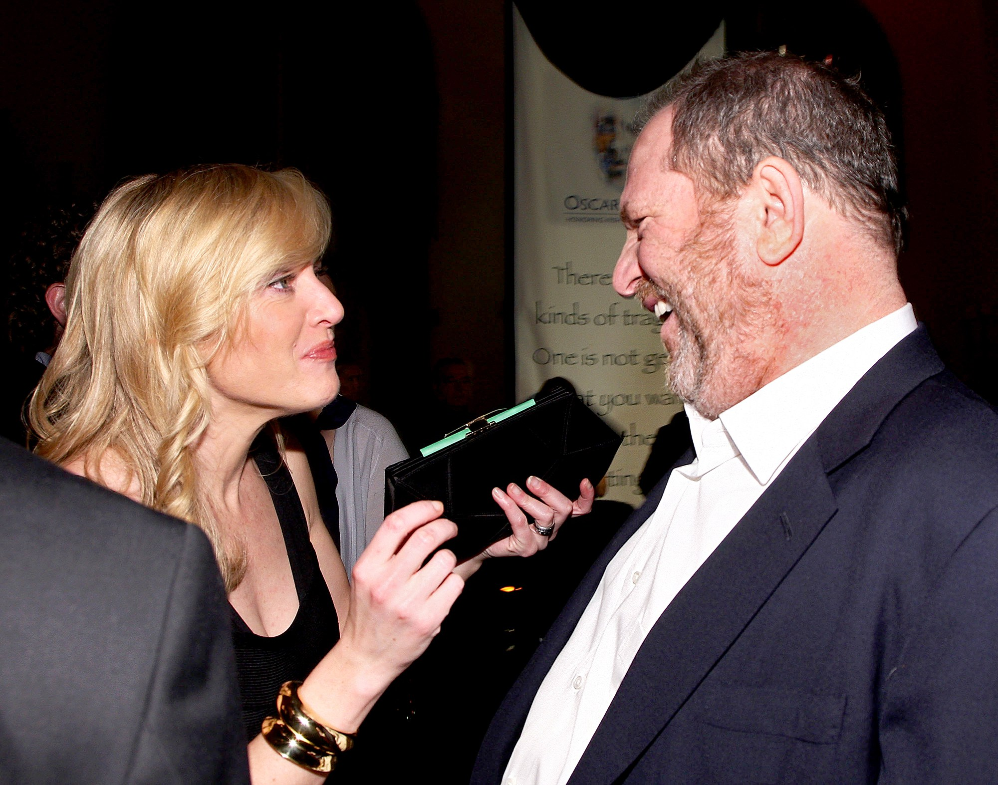 Kate Winslet and Harvey Weinstein