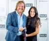 Chip Gaines and Joanna Gaines at the Build Series on October 18, 2017 in New York City.