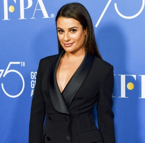 Lea Michele attends the Hollywood Foreign Press Association Hosts Television Game Changers Panel Discussion at The Paley Center for Media on October 26, 2017 in Beverly Hills, California.