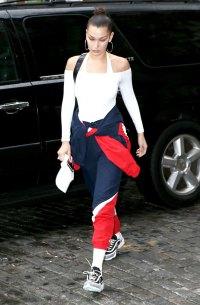 Bella Hadid in NYC