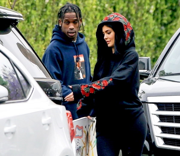 Pregnant Kylie Jenner and her boyfriend, Travis Scott traveled to Houston earlier this week