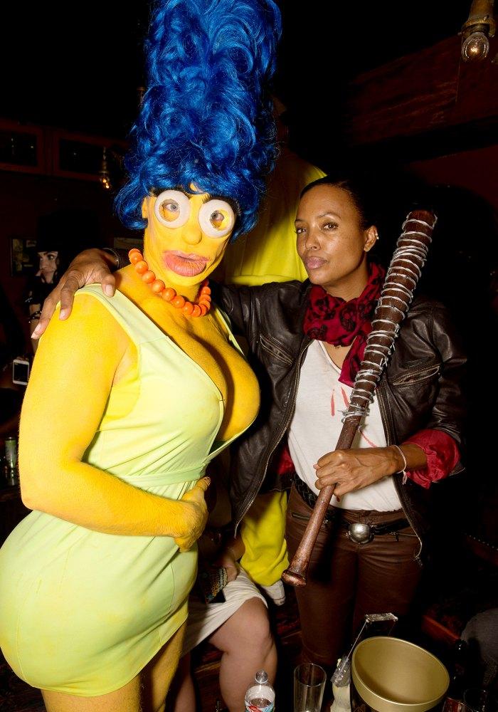 Colton Haynes Marge Simpson Aisha Tyler Halloween