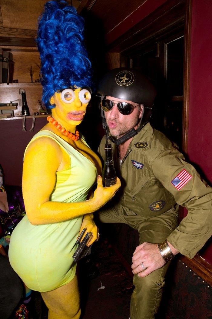 Colton Haynes Marge Simpson Jeff Leatham Halloween