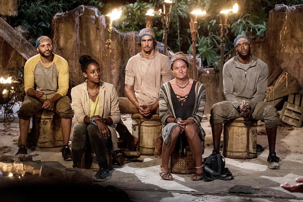 Joe Mena, Desiree Williams, Devon Pinto, Ashley Nolan, Alan Ball, Tribal Council, Survivor