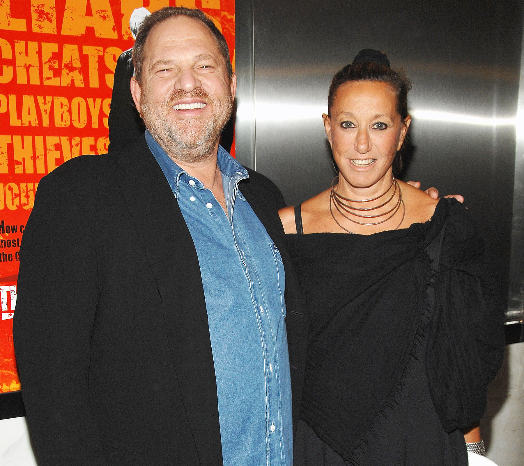 Harvey Weinstein Donna Karan