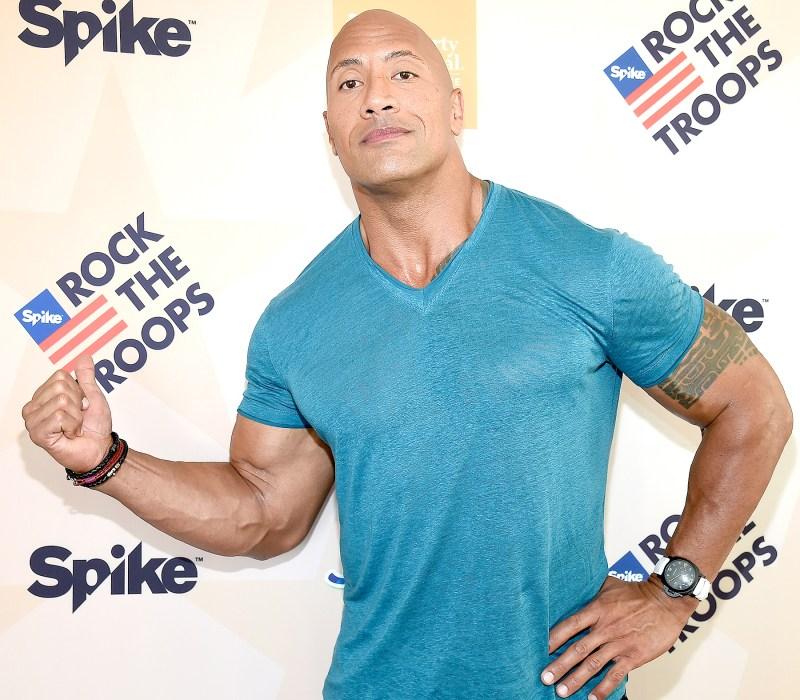 Dwayne 'The Rock' Johnson social media