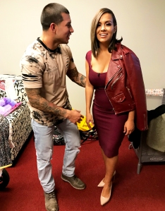Teen Mom Javi Marroquin and Briana DeJesus