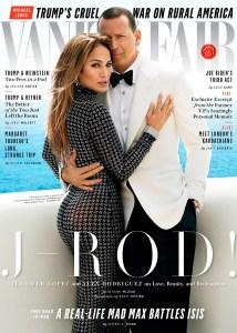 Jennifer Lopez Alex Rodriguez Vanity Fair Cover