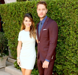 Justin Hartley and Chrishell Stause married