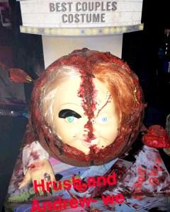 Khloe Kardashian Halloween Snapchat