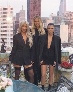 Kim Kardashian West, Khloe Kardashian, Kourtney Kardashian
