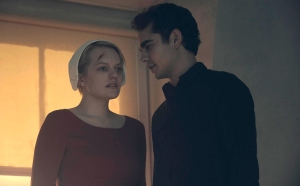 Elisabeth Moss and Max Minghella on The Handmaid's Tale