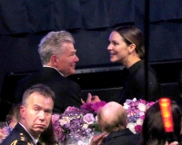 David Foster and Katharine McPhee attend the David Foster Foundation 30th Anniversary Miracle Gala & Concert Gala in Vancouver, Canada on October 21, 2017.